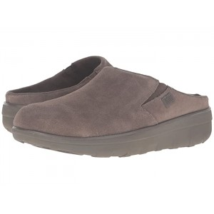 Loaff Suede Clogs Bungee Cord Suede