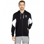 PUMA Rebel French Terry Full Zip Hoodie PUMA Black