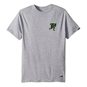 Vans X Marvel Hulk T-Shirt (Big Kids) Athletic Heather