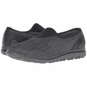 TravelActiv Slip-On Black/Grey Heather
