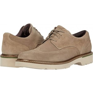 Rockport Charlee Wing Tip Sand Suede