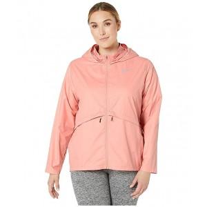 Essential Jacket Hood (Size 1X-3X) Pink Quartz/Reflective Silver