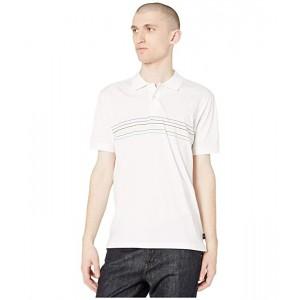 Stripe Detail Front Polo Shirt