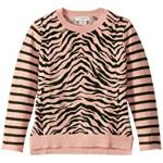 Zebra and Stripes Sweater (Toddler/Little Kids/Big Kids)