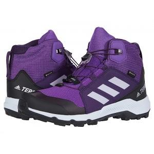 Terrex Mid GTX (Little Kid/Big Kid) Active Purple/Aero Blue/True Pink