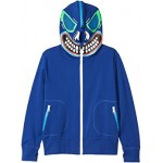 Zip-Up Hoodie with Monster Face (Toddler/Little Kids/Big Kids)