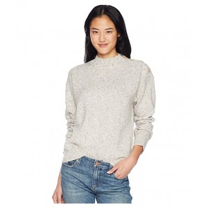 Jasper Buttoned Sweater Heather Sterling
