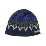 Alpine Action Beanie Collegiate Navy Broken Fair Isle