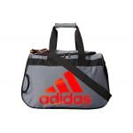 adidas Diablo Small Duffel Onix/Black/Solar Red