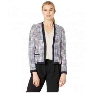 Novelty Tweed Open Jacket Bay Multi
