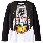 Space Shuttle Long Sleeve T-Shirt (Toddler/Little Kids/Big Kids)