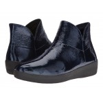 Supermod Leather Ankle Boot Inky Blue