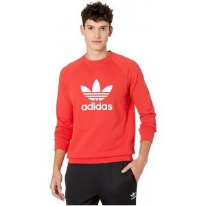 adidas Originals Trefoil Crew Sweatshirt Lush Red