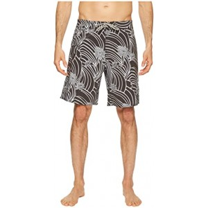 Swirl Derby Boardshorts Black