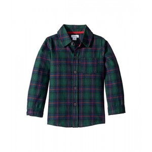 Blackwatch Plaid Button Down Long Sleeve Shirt (Infant/Toddler)