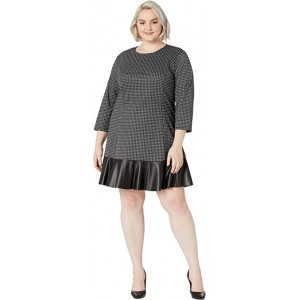 Plus Size Micro Combo Tier Dress