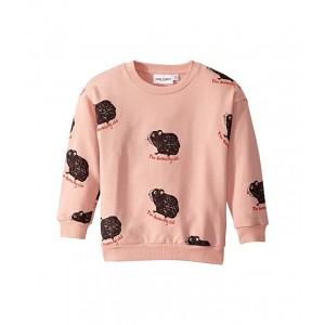 Guinea Pig Sweatshirt (Toddler/Little Kids/Big Kids) Pink