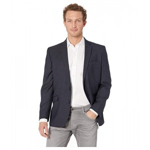 Slim Fit Blazer with Texture and Stretch