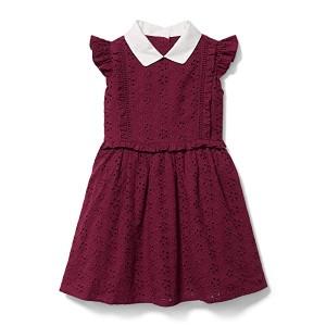 Eyelet Dress (Toddler/Little Kids/Big Kids)