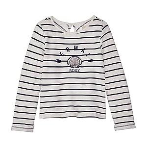 Heart and Soul Fleece Top (Big Kids) Dress Blues/Nautic Stripe