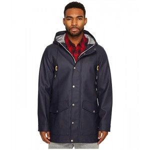 Levis Long Two-Pocket Fishtail Hooded Parka Navy