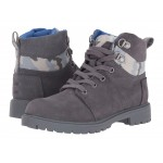Summit Boot (Little Kid/Big Kid) Castlerock Grey Suede/Camo