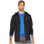 Vent Hooded Jacket Black