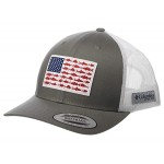 PFG Mesh Snapback Fish Flag Ball Cap