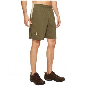 UA Freedom Armourvent Shorts Marine OD Green/Desert Sand/Desert Sand