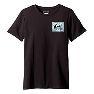 Short Sleeve Anti UV Volcano Blues Tee (Big Kids) Tarmac