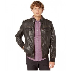 Levis Two-Pocket Military Bomber with Sherpa Lining Dark Brown