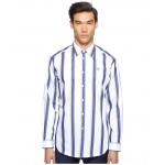 Bold Stripe Cutaway Shirt Blue Stripe