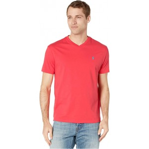 Polo Ralph Lauren Classic Fit V-Neck Tee Racing Red