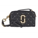 The Softshot 21 Quilted with Pearls Crossbody