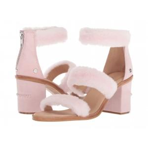 Del Rey Fluff Heel Seashell Pink