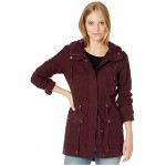 Cotton Fishtail Parka with Hood