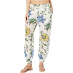 Tory Burch Swimwear Printed Beach Pants Cover-Up New Ivory Love Floral