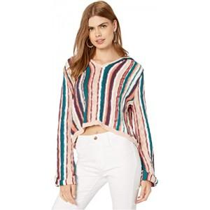 Sun Express Hooded Sweater Mood Indigo Soul Stripes