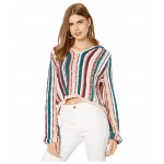 Roxy Sun Express Hooded Sweater Mood Indigo Soul Stripes