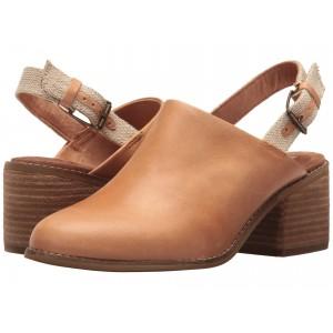 Leila Slingback Honey Leather