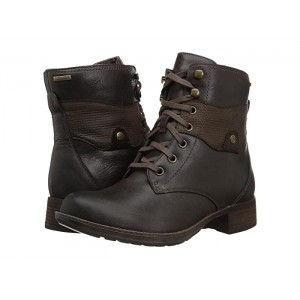 Copley Waterproof Lace-Up Boot Stone Leather