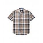 Pendleton Short Sleeve Madras Shirt Blue/Brown Plaid