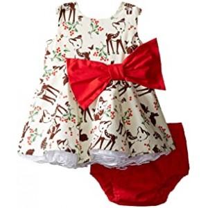 Little Party Little Deer Dress (Infant)