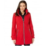 32.5 Hooded Softshell w/ Zip Detail Crimson