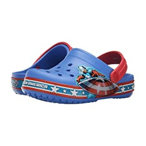 Crocband Captain America Clog (Toddler/Little Kid) Varsity Blue/Red