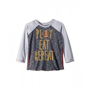 Play Eat Repeat Long Sleeve Raglan T-Shirt (Infant/Toddler)