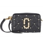The Softshot 17 Quilted with Pearls Crossbody