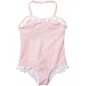 Seersucker Swimsuit (Toddler/Little Kids/Big Kids)