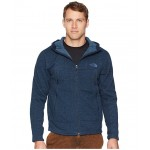 GL Alpine Full Zip Hoodie Urban Navy Sweater Texture Print