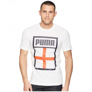 Forever Football Country Tee Puma White/England